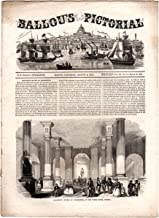 Ballou's Pictorial Drawing-Room Companion, August 4, 1855. Chantrey's Statue of Washington; East India Silk Worm; Paris Catacombs Paris; St. John's, New Brunswick; Melbourne; Sea of Azoff; Squaw Rock; Muscatine; Fort Snelling; Braille; War of 1812
