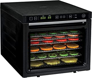 Rosewill Food Dehydrator Machine, 6-Tray Food Dehydrating Racks for Making Beef Jerky, Healthy Snacks Dry Fruit, Electric ...