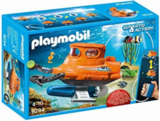 PLAYMOBIL® Submarine with Underwater Motor Building Set