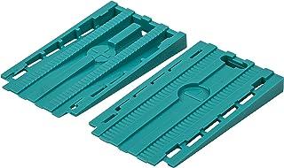 Wolfcraft 6946000 - Pack de 30 cuñas separadoras universales para suelo