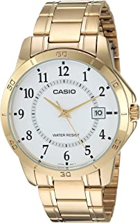 Relogio Masculino Casio Collection - Mtp-v004g-7budf -dourado