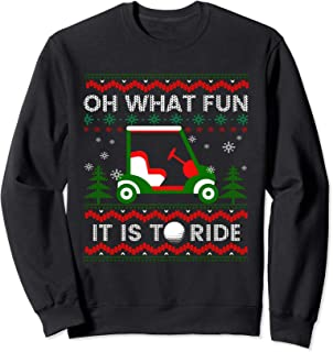 Oh What Fun - Ugly Christmas Golf T shirt Funny Xmas Gift