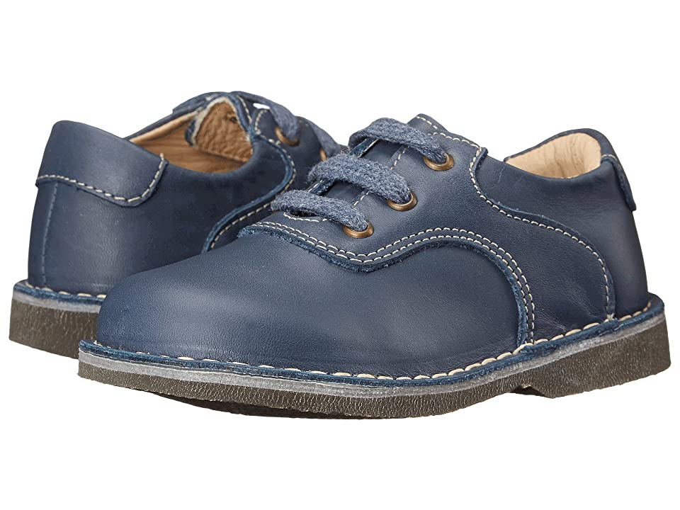 Kid Express Ryan (Toddler/Little Kid/Big Kid) (Navy Leather) Boy