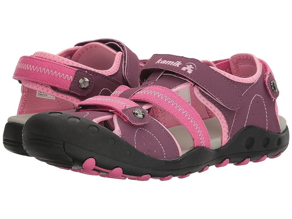 Kamik Kids Twig (Little Kid/Big Kid) (Plum) Girls Shoes