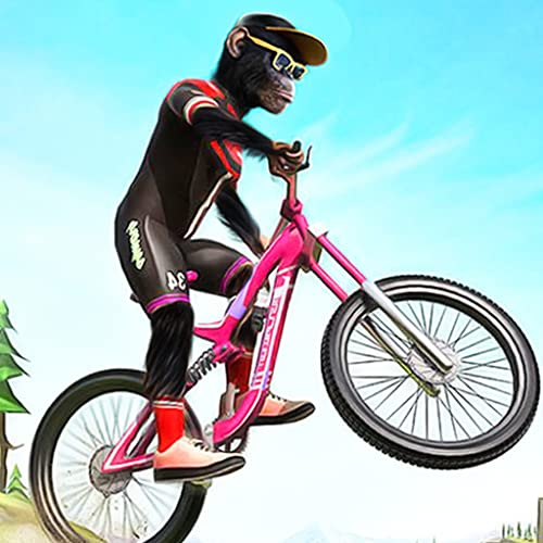Mega Ramp Mad Apes BMX Cycle Stunt Games 2020
