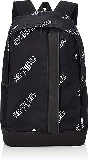 adidas Unisex Linear CF Backpack, Black/Black/White