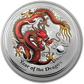 Best 10 oz year of the dragon silver coin Reviews