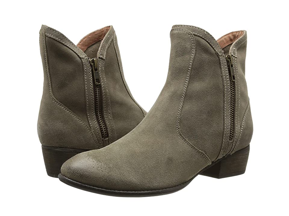 Seychelles Lucky Penny (Taupe Suede) Women