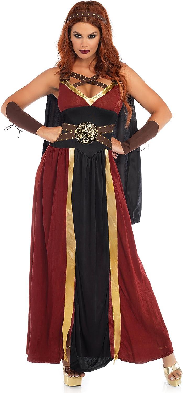 Leg Avenue 85437 - Regal Warrior Damen kostüm, Größe L (Mehrfarbig) B001CVHZ4K Leicht zu reinigende Oberfläche    Öffnen Sie das Interesse und die Innovation Ihres Kindes, aber auch die Unschuld von Kindern, kindlich, glücklich