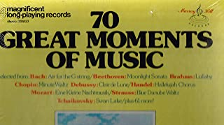 70 Great Moments of Music, 4 Long Playing Records