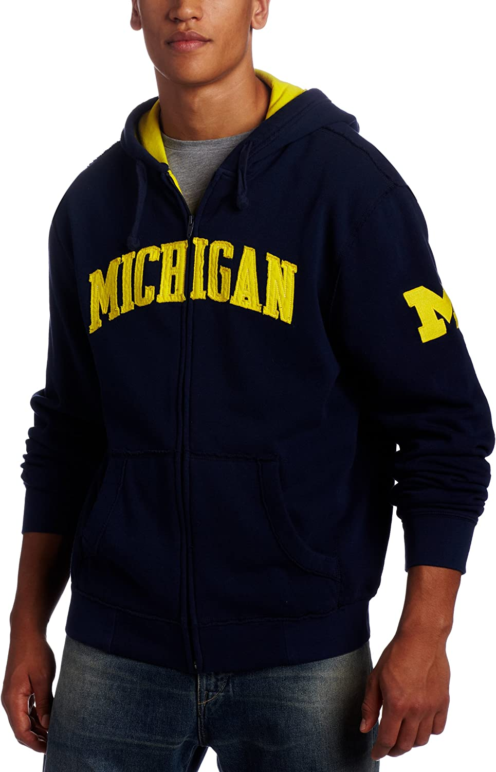 NCAA Michigan Wolverines Gametime Clearance SALE! Limited time! Zip Men's Safety and trust Full Hoodie