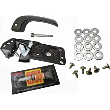 Avalanche Tahoe Yukon UTSAUTO Door Handle Repair Kit 20833606 Interior Inside LH Driver Front or Rear Replacement for 07-13 Silverado Suburban GMC Sierra Cadillac Escalade Yukon XL