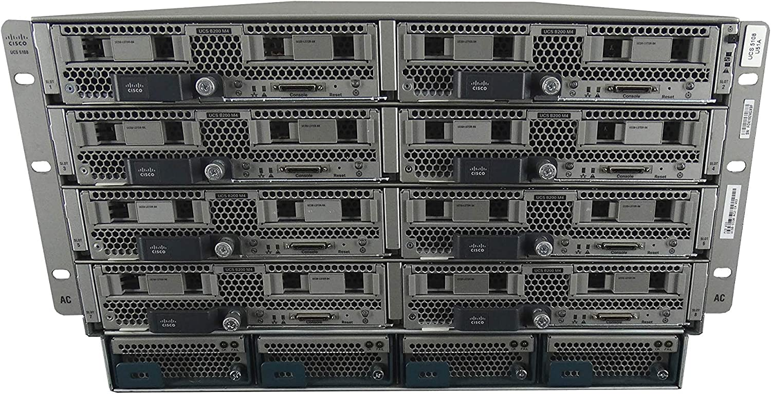 Cisco UCS 5108 Chassis with Max 42% OFF Brand new 8X M4 Blade Server B200 Per