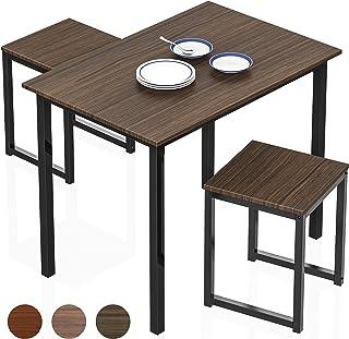 HOMURY Modern Wood 3 Piece Dining Set Studio Collection...