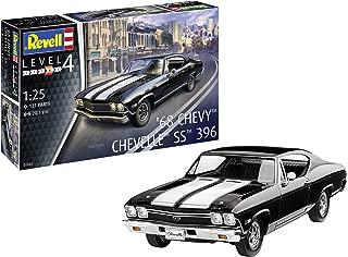 Revell-1968 Chevy Chevelle SS 396, Escala 1:25 Kit de Modelos de plástico, 1/25 (Revell 07662 7662)