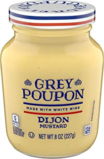 Grey Poupon Dijon Mustard (8 oz Jar)