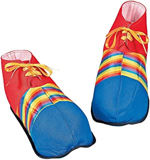 Fun Express Jumbo Clown Shoes - Costumes & Accessories &