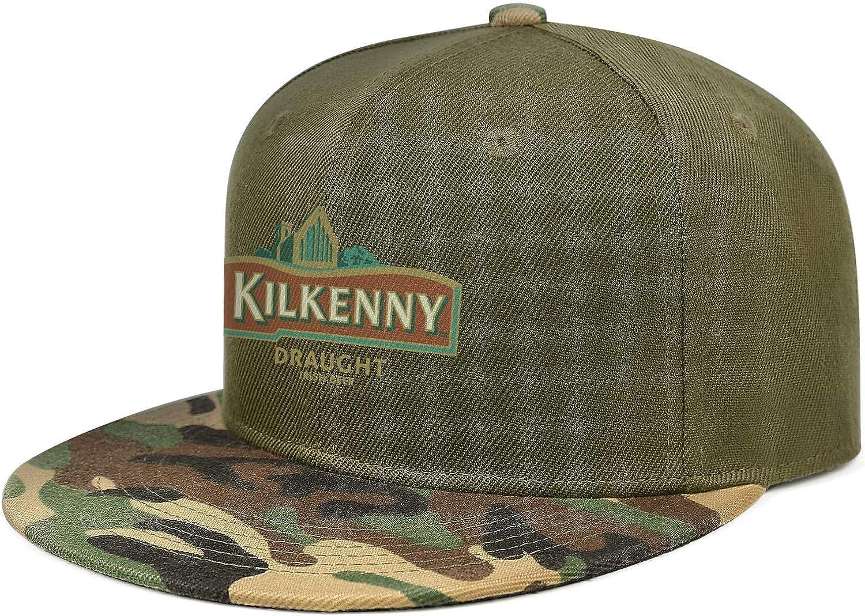 QWQD Hoegaarden Witbier Logo Mens Womens Adjustable Truck Cap Camouflage Snapback Hat