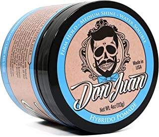 Don Juan Hybrido Pomade All Day Strong Hold with Medium Shine, 4 Ounce