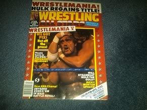 WWF WWE Wrestling All Stars Heros & Villains Magazine July 1989 WCW TNA ECW NWO NWA AWA