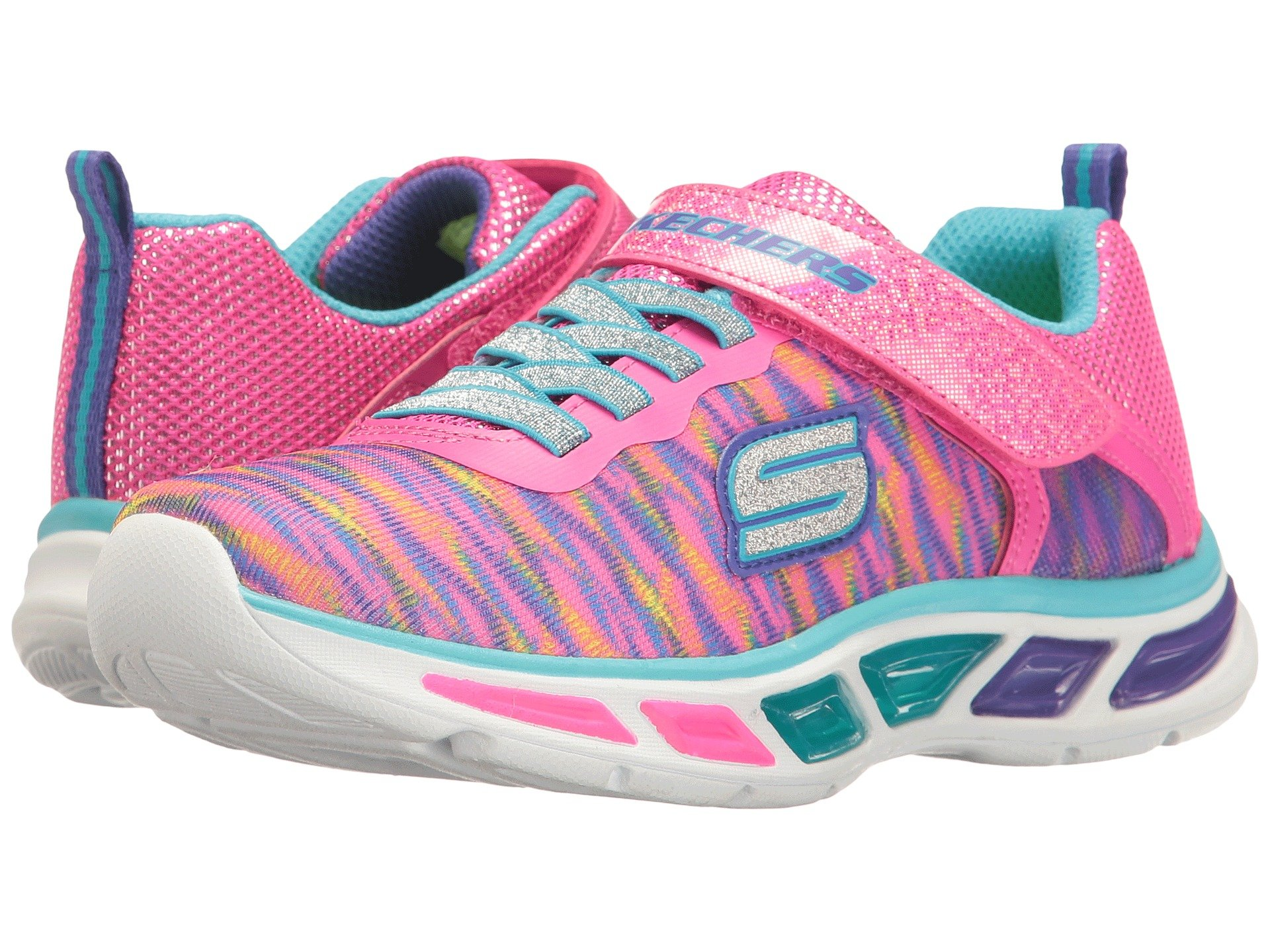SKECHERS KIDS Lite Beams 10767L Lights (Little Kid/Big Kid) At Zappos.com
