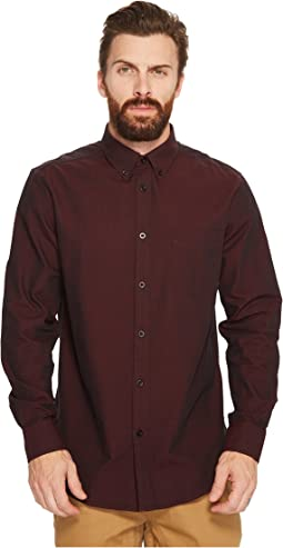 Ben Sherman Long Sleeve Argyle Dobby Shirt