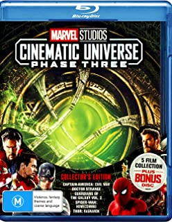 Marvel Phase 3: Part 1 (Captain America: Civil War / Doctor Strange / Guardians of the Galaxy: Volume 2 / Spider-Man: Home...