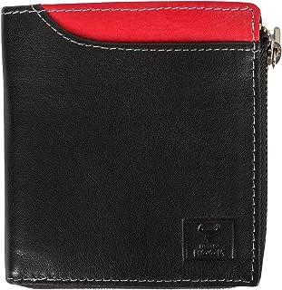 Wild-hook Men's Premium Leather Wallet With RFID Blocking | Multiple Credit Cardholders | Extra Capacity Bi-fold Wallet Wi...