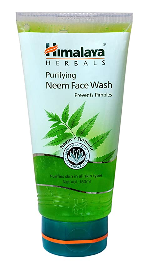 化学者花に水をやる葉巻Himalaya Purifying Neem Face Wash 150ml