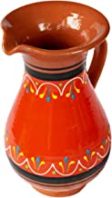 Cactus Canyon Ceramics Spanish Terracotta 2 Quart Pitcher, Orange