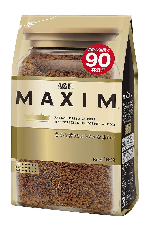 AGF Maxim Japan instant coffee bag Original 180g Memphis Mall - unisex SET Version