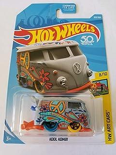 Hot Wheels 2018 50th Anniversary Hw Art Cars - Kool Kombi (Grey)