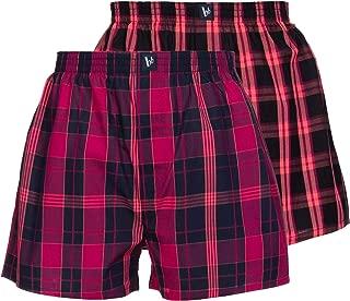 Confezione Multipla Da Uomo Tinta Unita Nero Regalo Di Natale Boxer Biancheria Intima Hipster Pantaloni