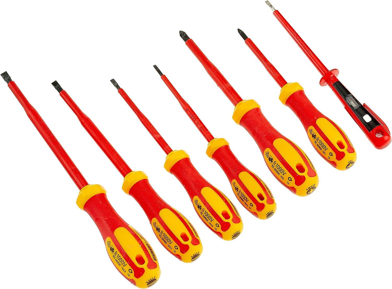 Nerrad Tools ntsdsvde1 Schraubendreher Set mit Neon, schwarz B079NT81T7 | Merkwürdige Form