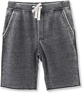 Men's Casual Classic Fit Cotton Elastic Jogger Gym Shorts