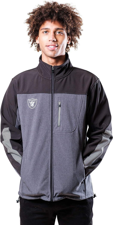 Ultra Game NFL Mens Classic Baseball Varsity Coaches Jacket