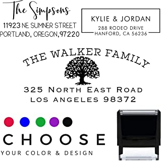 Address Stamps Self Inking Personalized
