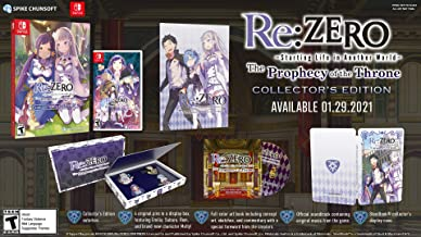 Re:ZERO - The Prophecy of the Throne Collector's Edition - Nintendo Switch