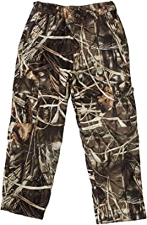 Drake Waterfowl Youth MST Hunting Pants Fleece Lined, Waterproof Hunting Pants Max 4 Color