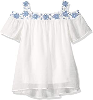 62268f26a8d6 Amazon.com  Big Girls (7-16) - Blouses   Button-Down Shirts   Tops ...