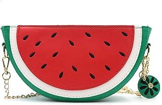HXQ Orange CrossBody Purse Bag,PU Phone Shoulder Wallet for Women Girl