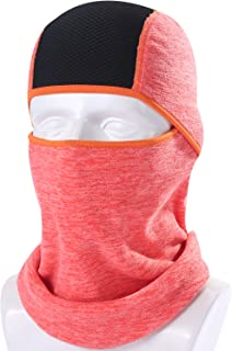 AXBXCX 2 Pack or 1 Pack Balaclava Neck Warmer Face Mask for Skiing