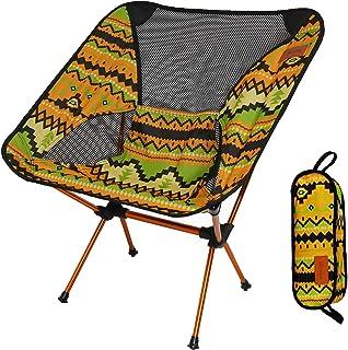 アウトドアチェア 折りたたみ 超軽量【耐荷重150kg】コンパクト イス 椅子 収納袋付属 お釣り 登山 携帯便利 キャンプ椅子