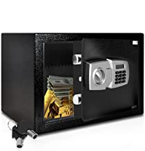 SereneLife Drop Box Safe Box | Safes & Lock Boxes | Front Loading Safe Cash Vault Drop Lock | Safe Security Box | Digital ...
