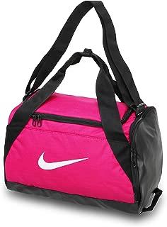 Brasilia Training Duffel Bag, (Extra-Small) Rush Pink/Black/White