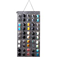 KGMCARE Sunglasses Organizer Storage- Hanging Eyeglasses Wall Pocket Mounted,Eyewear Display,25...