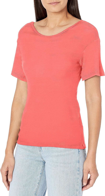 Ella Moss Women's Nancy Twist Sleeve New product Time sale type Short Top Back