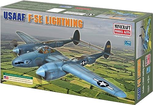 Minicraft 11664 Modellbausatz USAAF F-5E Lightning