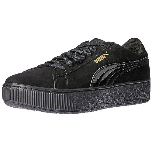 Chaussures bon marché en gros Puma Vikky Platform Metallic