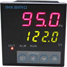 Inkbird F and C Display PID Temperature Controller Thermostat ITC-106RH with K Thermocouple Relay Output AC 100 to 240V